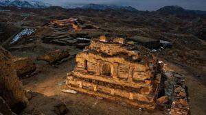 新疆石头城遗址考古:佛教曾在此兴盛,中原文化曾在此流播