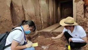 四川:一工地发现墓室初判为宋代古墓穴