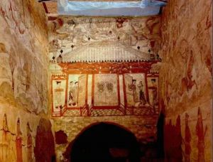 扬之水:忻州北朝壁画墓观画散记